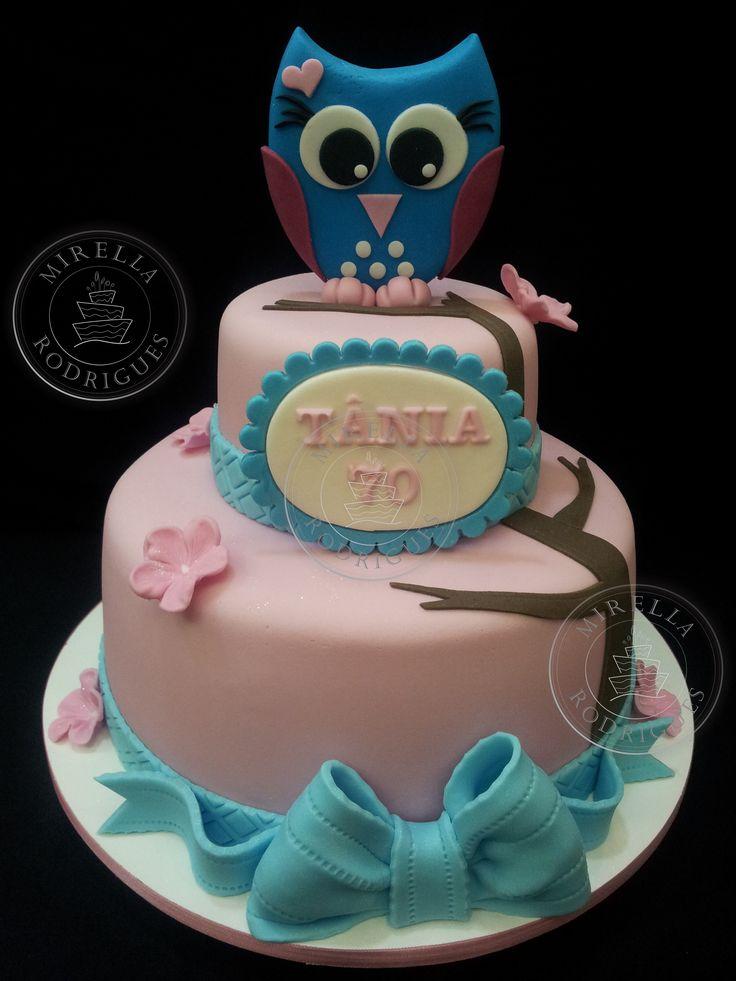 Bolo CorujaBolo Artistico, For, Cake Design, Cake Inspiration, Cake Factories, Bolo Coruja, Bolo Artístico, Mirella Rodrigues, Shared Cakepins Com