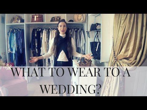 Wedding guest outfit etiquette