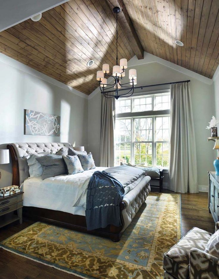 33 stunning master bedroom retreats with vaulted ceilings - Master Bedroom Retreat Decorating Ideas