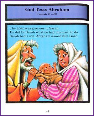 God Tests Abraham Story Kids Korner Biblewise