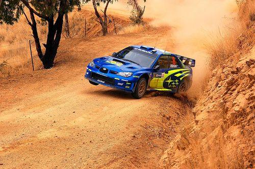Impreza WRC Rally car