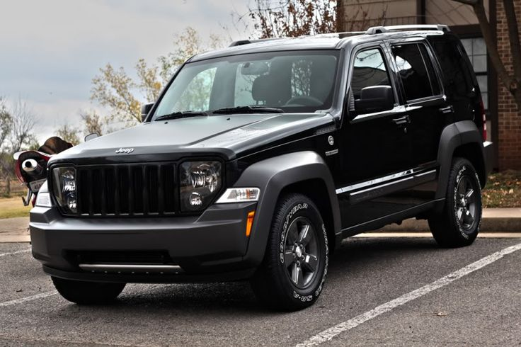 black+jeep+liberty | Black Jeep Liberty Lifted Black 2011 jeep liberty