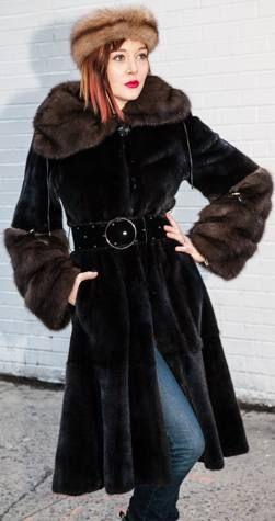 42 best Mink Coat mink jacket images on Pinterest | Mink jacket ...