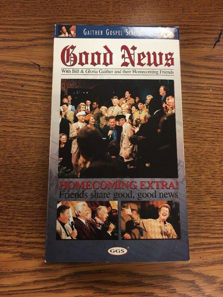 GAITHER GOSPEL SERIES...GOOD NEWS Gospel VHS