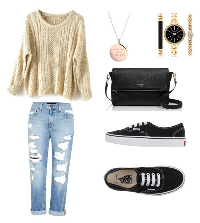"""""""Untitled #1"""" by monika-machalova on Polyvore featuring Genetic Denim, Vans, Kate Spade and Style & Co."""