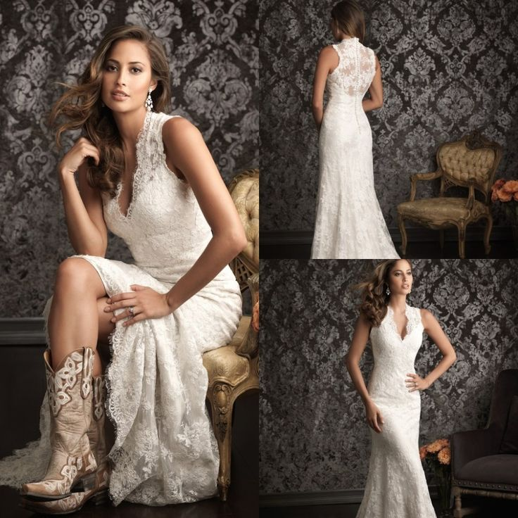 Wedding dress for country wedding finest compare prices for Wedding dresses with cowboy boots