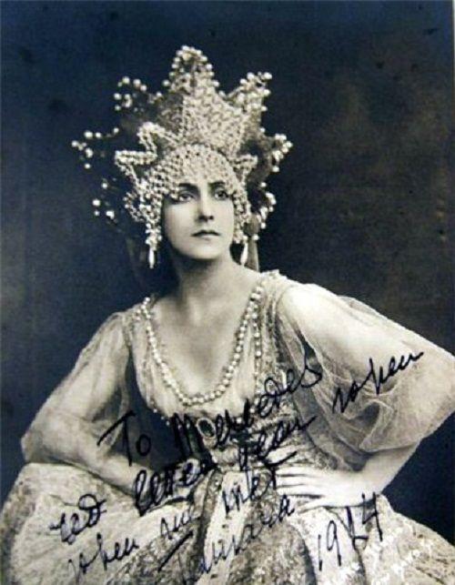 Tamara Platonovna Karsavina.