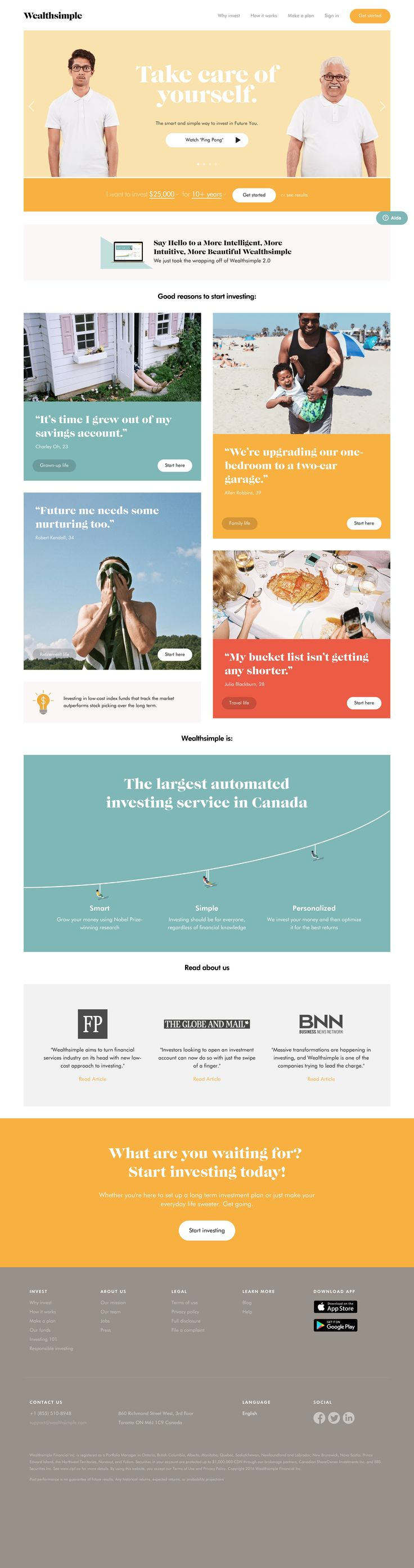 Invest in Future You   Wealthsimple