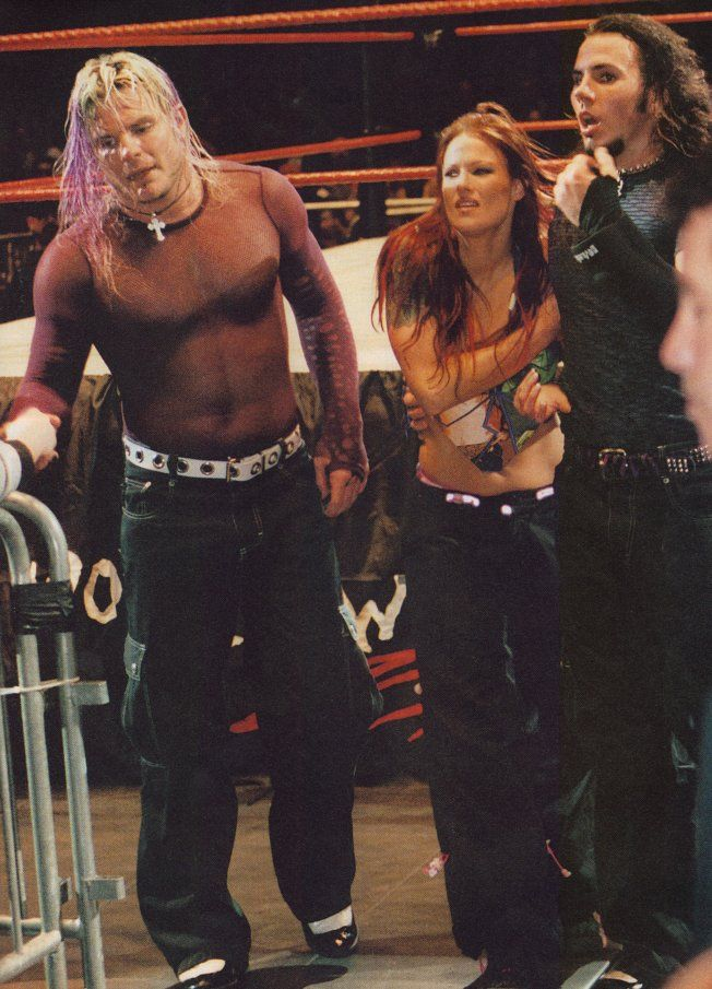 The Hardy Boys and Lita AKA Team Xtreme