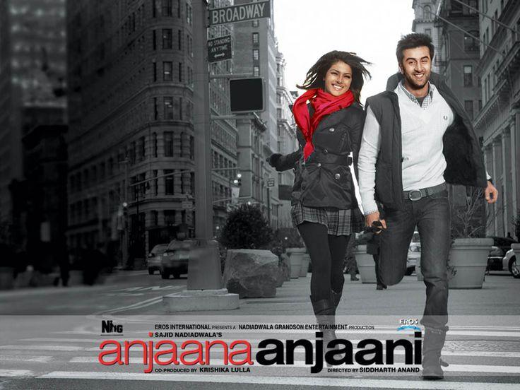 ANJAANA ANJAANİ(2010) Yaşamdan umutlarını kesmiş ve intihara kalkışan iki kişinin olağanüstü tanışma hikayesi.Bir süre sonra kendilerini hayata sıkı sıkıya tutunurken bulacaklardır.İlginç ve eğlenceli,bir o kadar da işaretlerle dolu hayata dair bir film.Başrollerde Ranbir Kapoor ve Priyanka Chopra. İmdb puanı:5,8