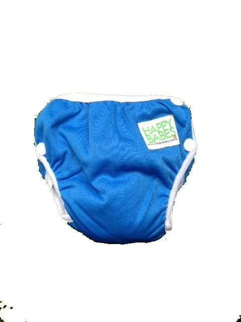 Reusable Swim Nappies eliminates the need for the ongoing purchase of expensive disposable swim nappies.The Swim Nappy is made from a waterproof PUL cover, polyester inner lining and elasticised legs and waist. They are fully adjustable with 3 snap settings on each side of the swim nappy all allowing for a comfy and gentle fit. Just use the swim nappy Sizes: Small: 4.5-8kg Medium: 8-14kg Large: 14-18kg  Only $18.95 Free Postage Australia Wide