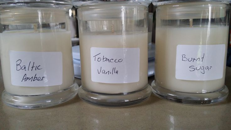 New scents to add to the range? Have to test them first, so glad we're candle addicts. Soy candles everywhere:)