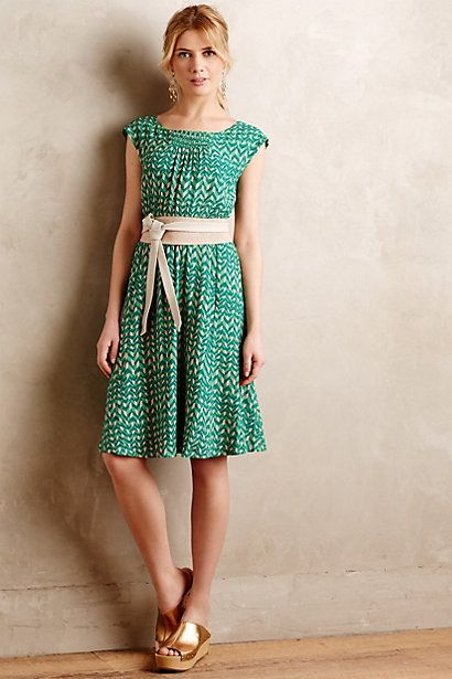 Evaline Dress #anthropologie