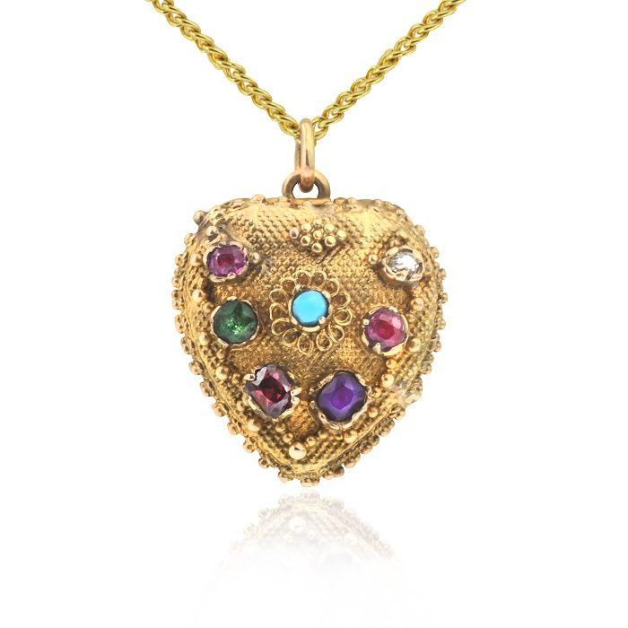 Gerard McCabe Jewellers Adelaide Victorian Locket Antique Specialists