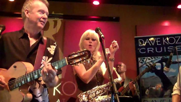 Peter White Mindi Abair Dave Koz - Bueno Funk at the Spaghettini Dave Koz 2013 Cruise Party https://www.youtube.com/watch?v=o4jFPS6dC4A