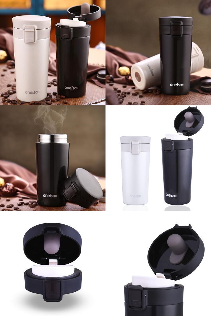 [Visit to Buy] Hot Bilayer 304 Stainless Steel Insulation Thermos Cup Coffee keep Mug Thermo Mug water for bottle Beer Thermo Mugs Auto Car #Advertisement