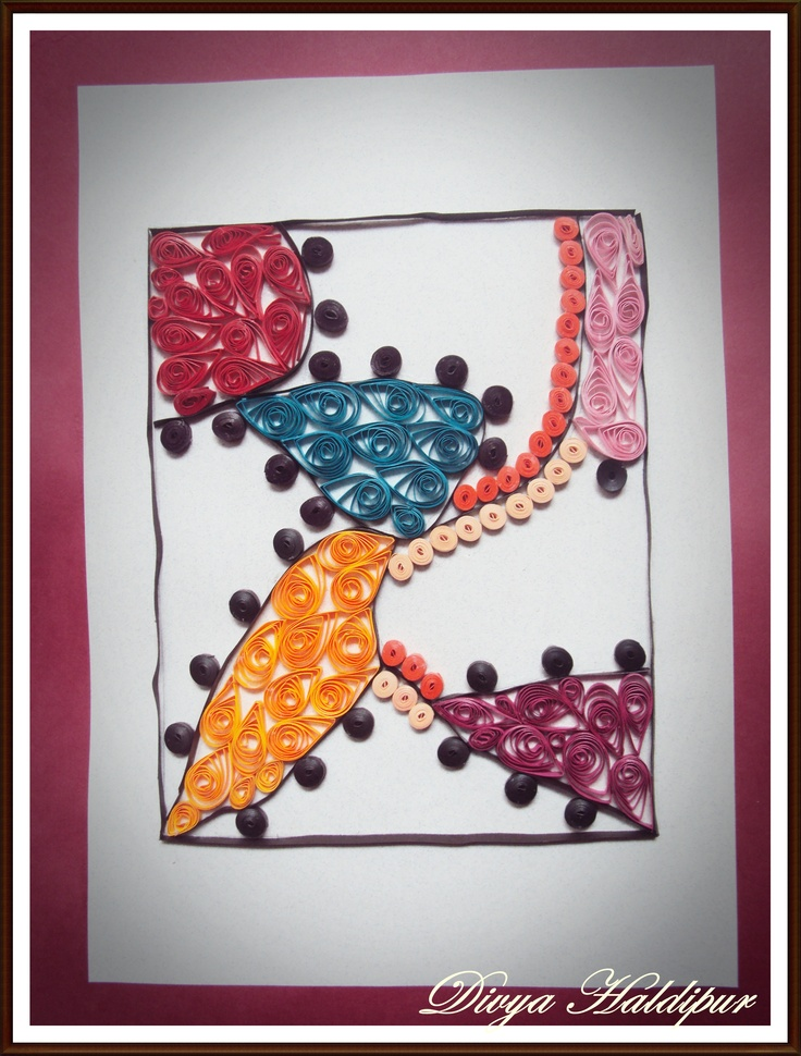 Abstract quilling
