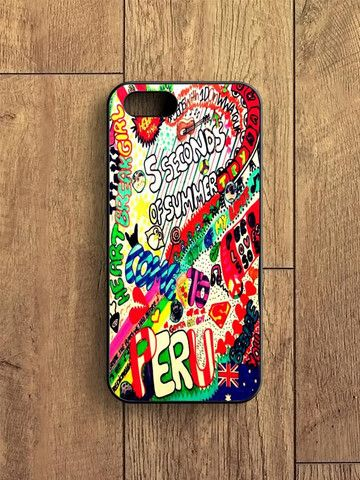 5 Sos Art Color iPhone 5S Case