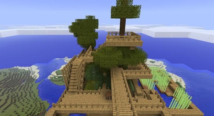 #minecraft treehouse | MInecraft | Pinterest