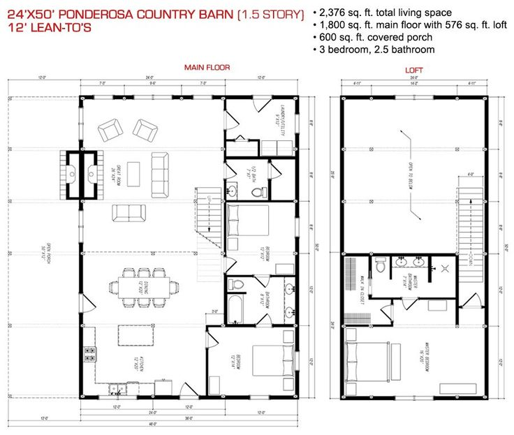 156 Best Images About Cabins On Pinterest Barn Homes: house barn combo plans