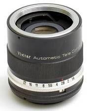 Vivitar 3x-1 Automatic Tele-Converter In Excellent Condition