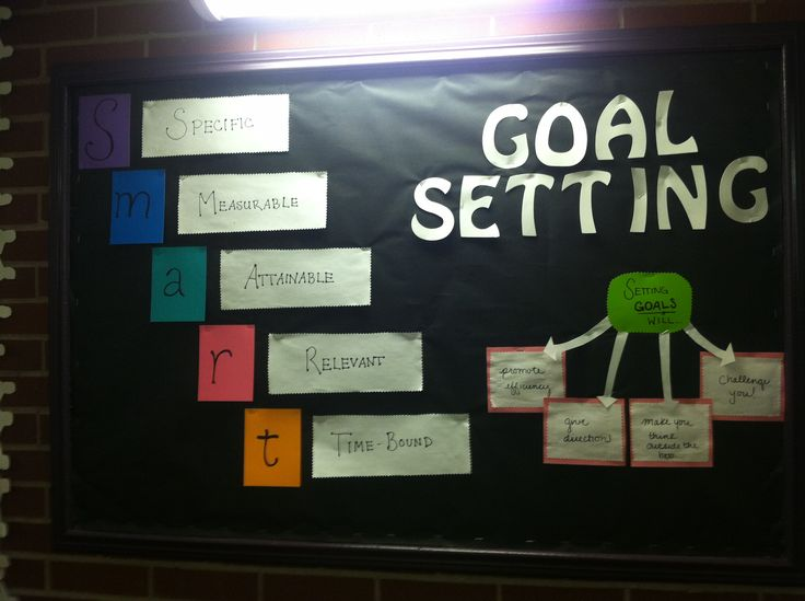 Classroom Goal Setting Ideas ~ Best images about careers bulletin board ideas on
