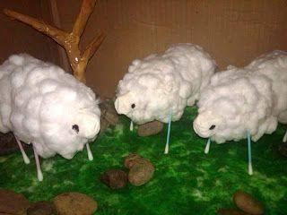 """Kumpulan Tips Pendidikan Kreatif Dari Pendidik / Guru Untuk Anak Usia Dini: Cara Mengajar TK dan PAUD Tema Hewan - Kreasi Membuat """"Shaun The Sheep"""", Sang Domba (Kerajinan Tangan Taman Kanak-kanak dan Pendidikan Anak Usia Dini"""