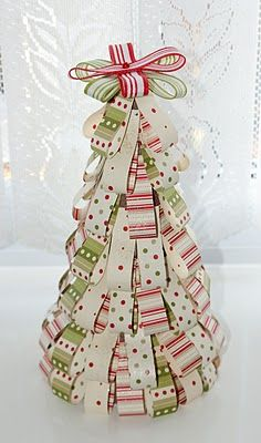 Lavenderstamper: Table top Christmas tree