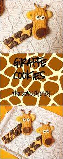 THE DEVILISH DISH: Giraffe Cookies April the Giraffe Giraffe Watch 2017