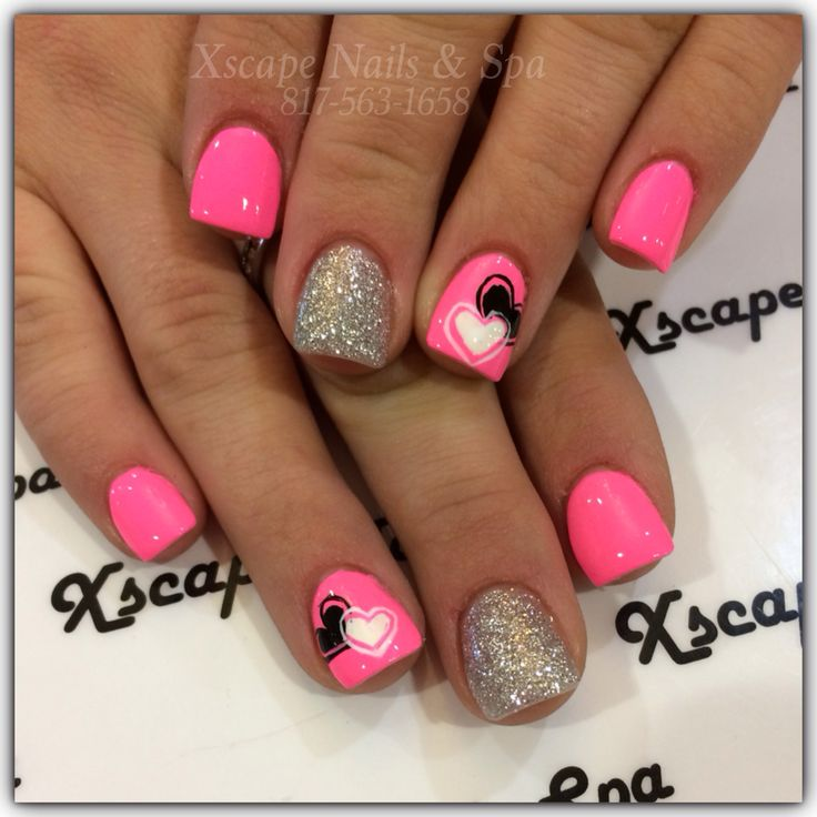 Valentine's Day Nail Designs - Best 25+ Valentine's Day Nail Designs Ideas On Pinterest