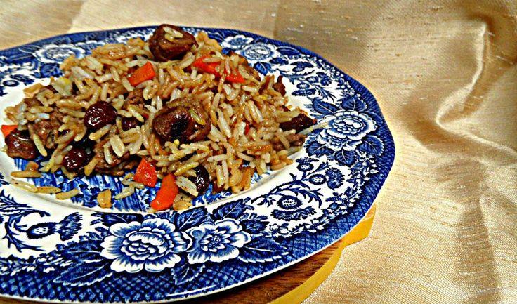 Chez Maximka: Qabili Pilau (Dhruv Baker's recipe for Tilda rice) #rice