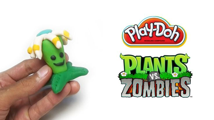 Play-Doh Plants vs Zombies Garden Warfare Bloomerang from Plants Vs. Zom...