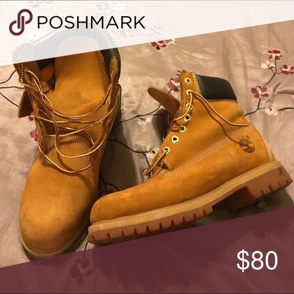 Men's size 8.5 Wheat timberland boots Wheat timberland boots Timberland Shoes Boots