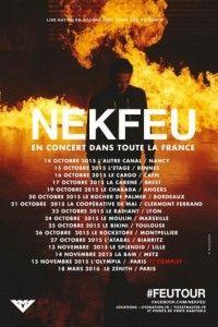 Nekfeu : FEU TOUR en concert au Cargo le 16 Octobre 2015 @ Le Cargö   Caen   Basse-Normandie   France