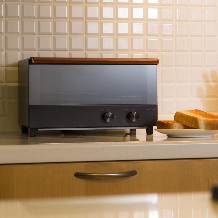 オーブントースター(ヨコ型)(ATT-W21-K)|オーブントースター | amadana(アマダナ) - amadana ONLINE STORE