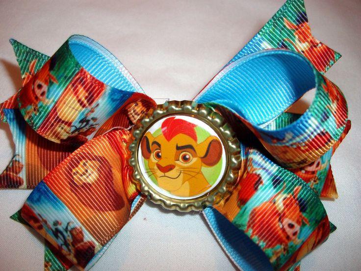 Lion Guard Lion King Disney Simba Girls Pretty  boutique hair bow