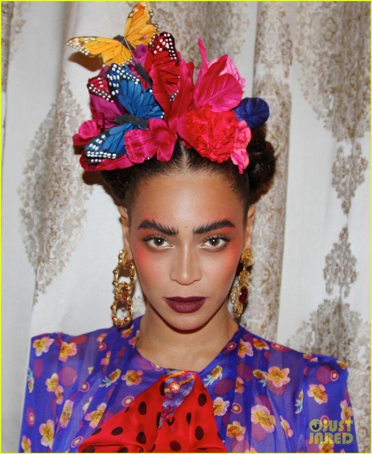 Beyonce Stuns As Frida Kahlo For Second Halloween Costume | beyonce stuns as…