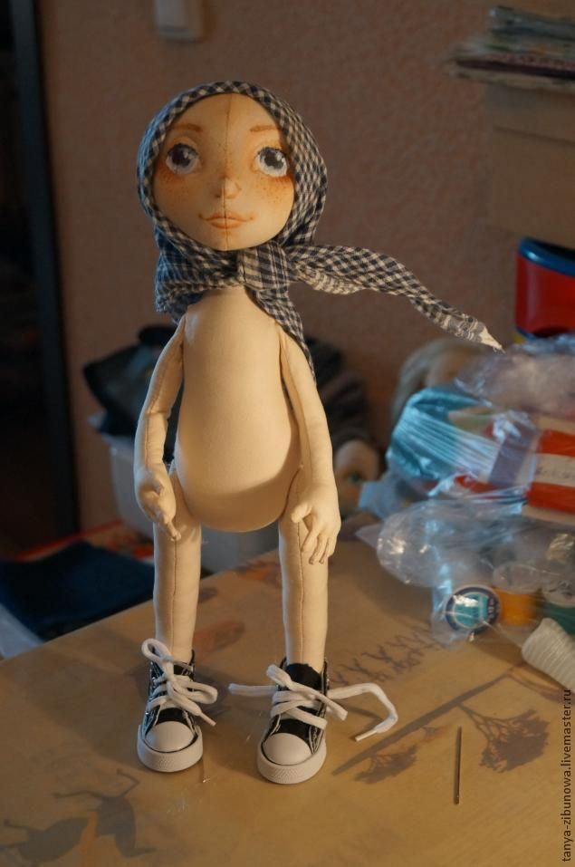 Создание текстильной куклы Лорочки. Часть 2 - Ярмарка Мастеров - ручная работа, handmade