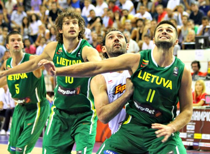 Lithuania's main sport is basketball. Lithuania had qualified for every Olympics tournament for basketball ever since it the team was created. There is another tournament called the EuroBasket. Lithuania has won this tournament a total of seven times which is one championship from tying for most UeroBasket championships won. The country that holds this title is Spain with 8 titles.