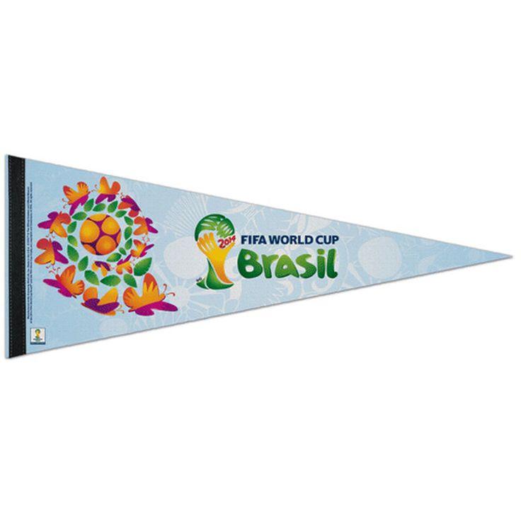 "FIFA 2014 World Cup 12"" x 30"" Pennant"