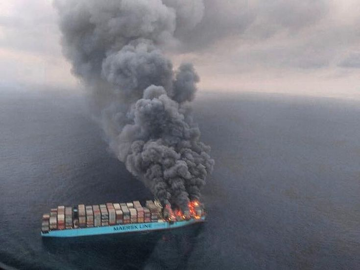 Fire  Photo by Indian navy Yesterday  Send your photos  #sea#seaman#seawoman#sailing#sailor#marine#the_best_sailor#ship#ocean#pilot#blue#water#fish#boat#anchorage#deck#engine#dream#port#calm#lake#Pacific#Mediterranean#Atlantic#shipping#safety#cruiser#shore#trip#ice