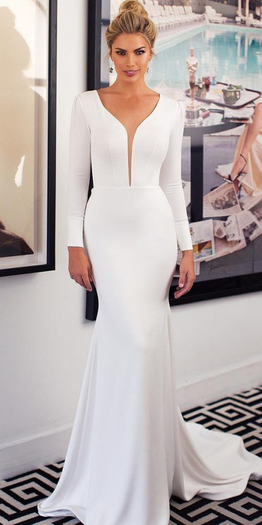 Embellished Wedding Dresses & Bridal Gowns Made With Love (412)  There are some exciting new trends in the 2020 wedding gown collections. From interes...