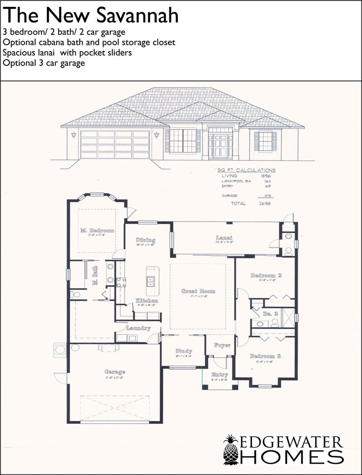 Retirement house plans small for Small retirement house plans