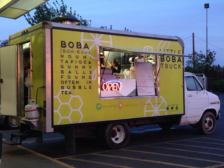 Boba Tea Food Truck