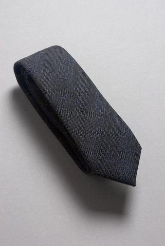 Handmade Necktie in Gray Glen Plaid
