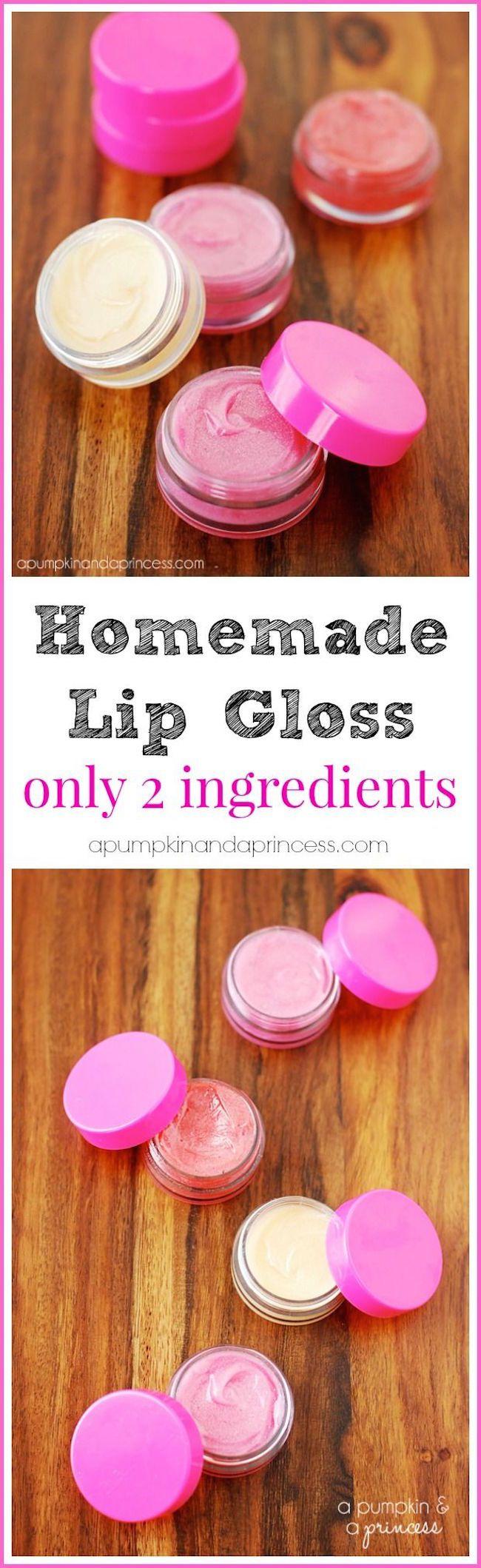 The 11 Best DIY Beauty Remedies -Homemade Lip Gloss
