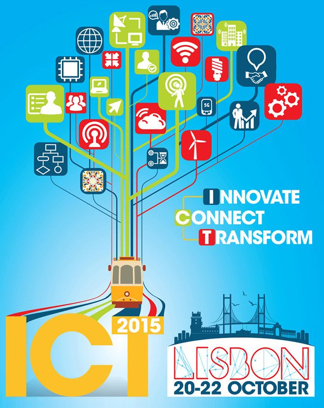 Key ICT event is confirmed. Innovate, Connect, Transform - #ICT2015, 20-22 Oct in Lisbon. Policy makers, researchers, #startups & others will meet to shape the future of ICT in Europe. Save the date & stay tuned for details. Registrations will open in May 2015! https://ec.europa.eu/digital-agenda/en/ict2015-innovate-connect-transform-lisbon-20-22-october-2015 #H2020