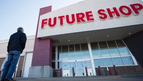 Future Shop stores close in Canada.