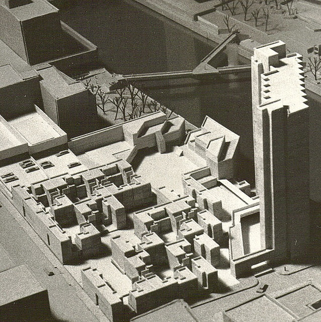 Overall Model View, Genesee Plaza, Rochester New York, Louis Sauer, Architect & Photographer | Flickr - Photo Sharing!