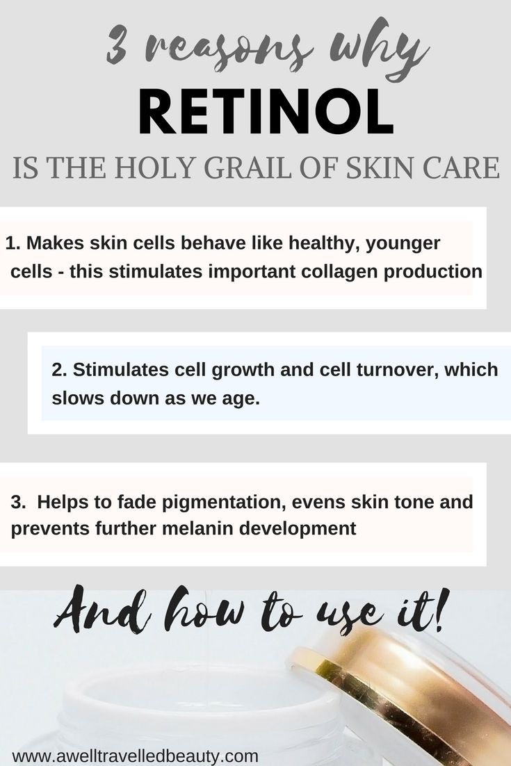 The Truth about Retinol. Retinol is scientifically proven to make your skin cells act like younger cell so it make an incredible difference to your skin but it can be confusing trying to figure out how to use it. Find out www.awelltravelledbeauty.com #skincare,  #anti-ageing,